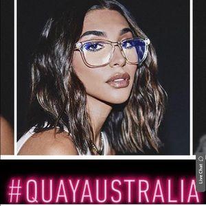 """QUAY """"hardwire"""" glasses"""